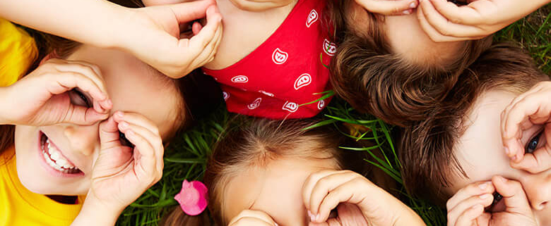 daycare child care rainbow